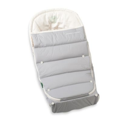 Orbit BabyR G3 Stroller Base in Grey > Orbit Baby® Small Footmuff in Natural