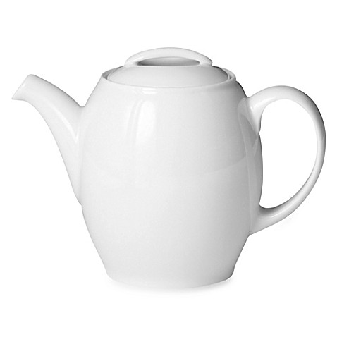 Denby 33.8-Ounce Teapot in White
