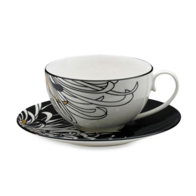 Denby Monsoon Chrysanthemum 6 3/4-Inch Tea Saucer