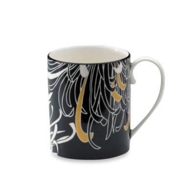 Denby Monsoon Chrysanthemum 9 oz. Can Mug