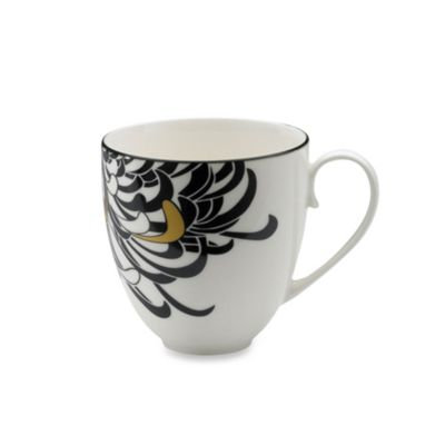 Denby Monsoon Chrysanthemum 10.5-Ounce Large Mug
