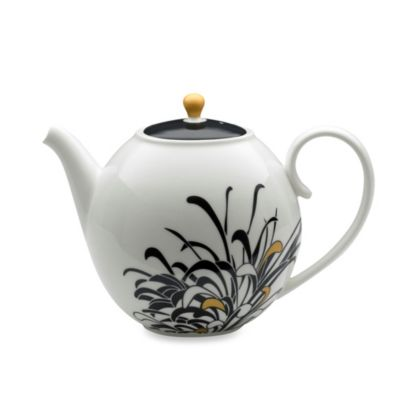 Denby Monsoon Chrysanthemum 36-Ounce Teapot