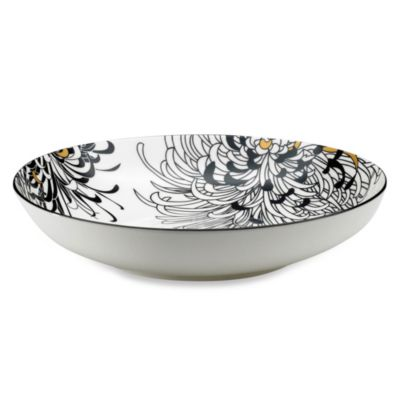 Denby Monsoon Chrysanthemum 9.5-Inch Pasta Bowl