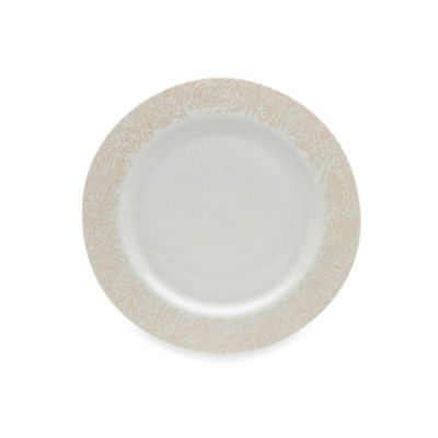 Denby Monsoon Lucille Gold 11 1/4-Inch Dinner Plate