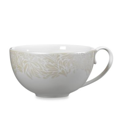 Denby Monsoon Lucille 8 1/2-Inch Teacup in Gold