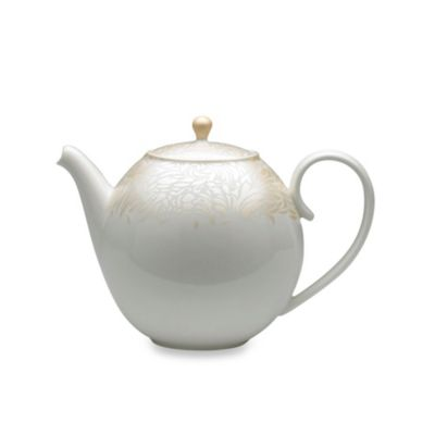 Denby Monsoon Lucille 42.3-Ounce Teapot in Gold