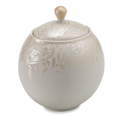 Denby Monsoon Lucille 10.6-Ounce Covered Sugar Bowl in Gold
