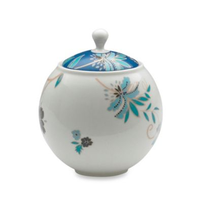 Denby Monsoon Veronica 10.6-Ounce Covered Sugar Bowl