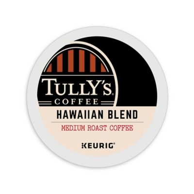 Keurig® K-Cup® Pack 18-Count Tully's® Hawaiian Blend Medium Roast Coffee