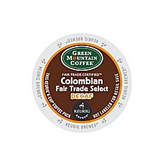 Keurig® K-Cup® Pack 18-Count Green Mountain Coffee® Colombian Fair Trade Decaf