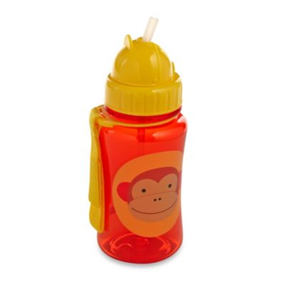 SKIP*HOP® Zoo 12 oz. Monkey Straw Bottle