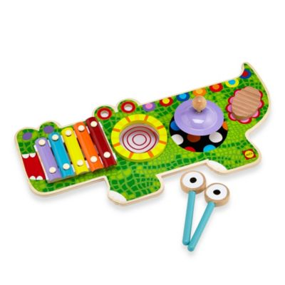 Musical Gator Wooden Music Center