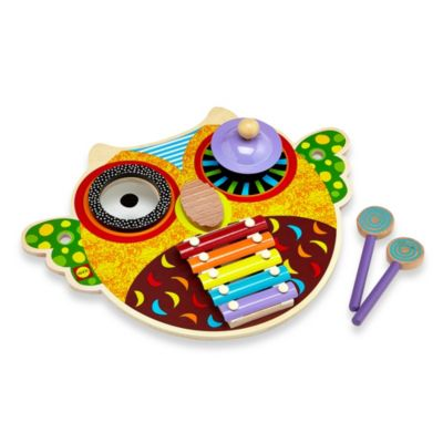 Musical Owl Wooden Music Center