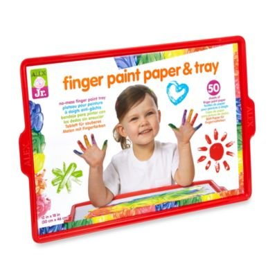 ALEX® Finger Paint Paper & Tray
