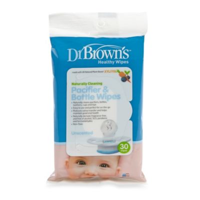 Dr. Brown's® 30-Pack Pacifier and Bottle Wipes