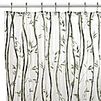 Bamboo Vinyl 70-Inch W x 96-Inch L Shower Curtain