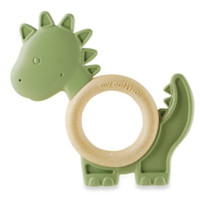 My Natural Eco Teether - Green Dino