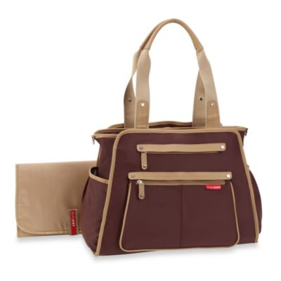 SKIP*HOP® Grand Central Take-It-All Diaper Bag in Chocolate