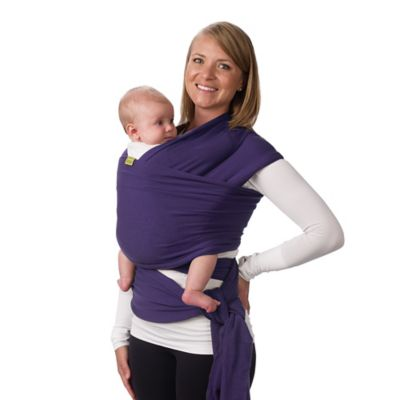 Wrap Baby Carrier in Purple
