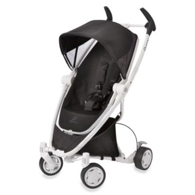 Quinny® Zapp Xtra™ with Folding Seat - Black Irony