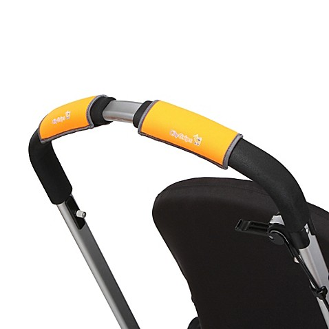 CityGrips Single Handlebar Stroller Grip Covers in Neon Orange