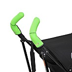 CityGrips Double Handlebar Stroller Grip Covers in Neon Green