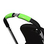 CityGrips Single Handlebar Stroller Grip Covers in Neon Green