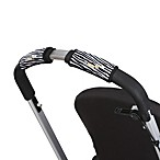 CityGrips Single Handlebar Stroller Grip Covers in Zebra