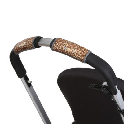 CityGrips Single Handlebar Stroller Grip Covers in Leopard