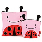 SKIP*HOP® Zoo Reusable Sandwich + Snack Bag Set in Ladybug