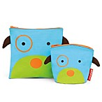 SKIP*HOP® Zoo Reusable Sandwich + Snack Bag Set in Dog