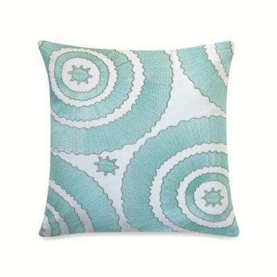Anthology™ Bungalow Embroidered Square Throw Pillow
