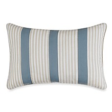 Nautica® Greenport Oblong Toss Pillow in Blue