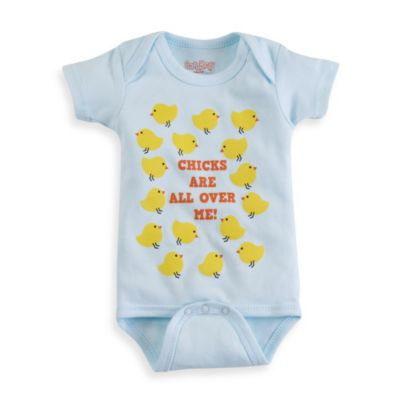 Sara Kety® Chicks Are All Over Me Bodysuit - 12 Months