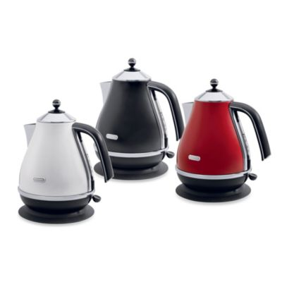 De'Longhi 1.8-Quart Icona Kettle in Red
