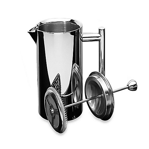 buy frieling 44 oz insulated polished stainless steel french press from bed bath beyond. Black Bedroom Furniture Sets. Home Design Ideas