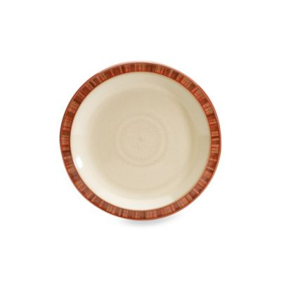 Denby Fire 10-Inch Salad Plate in Stripe