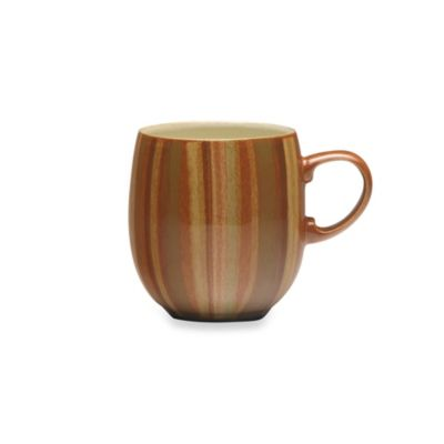 Denby Fire 14-Ounce Curved Mug in Stripe