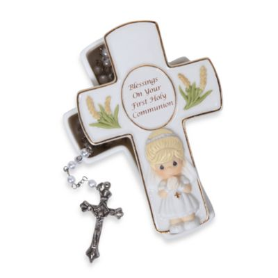 Precious Moments Communion Cross