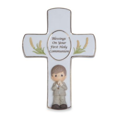 Precious Moments® Blessings On Your First Holy Communion Boy Figurine