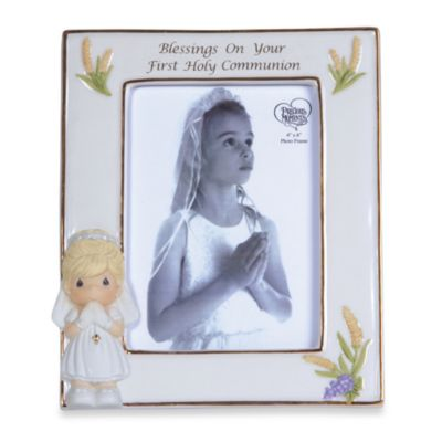 Precious Moments® Blessings On Your First Holy Communion Girl Frame