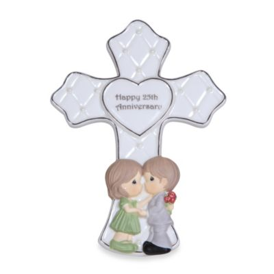 Precious Moments® 25th Anniversary Cross Figurine