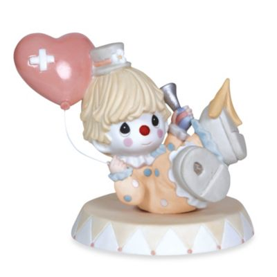 "Precious Moments® ""Falling Boy Clown with Heart Balloon"" Figurine"