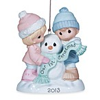 Precious Moments® 'First Christmas Together' 2013 Ornament