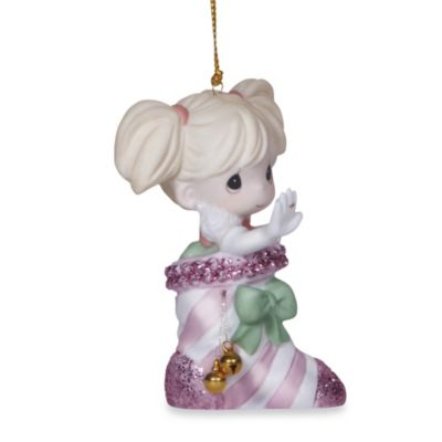 Precious Moments® Bling in the Holiday! Hanging Ornament