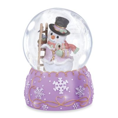 Precious Moments® Snow Place Like Home Musical Water Globe