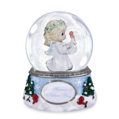 Precious Moments® Let Heaven & Nature Sing Musical Water Globe