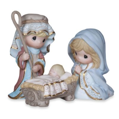 Precious Moments® Come Let Us Adore Him 3-Piece Figurine Set