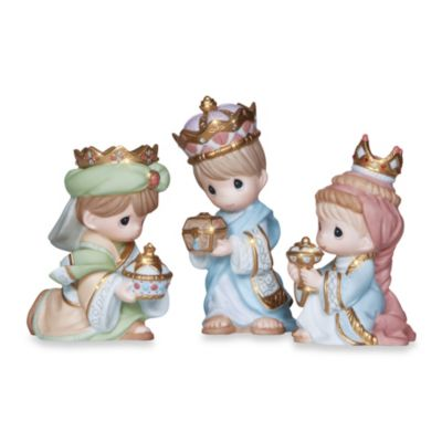 Precious Moments® We Three Kings 3-Piece Figurine Set