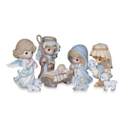 Precious Moments® Come Let Us Adore Him 8-Piece Nativity Set